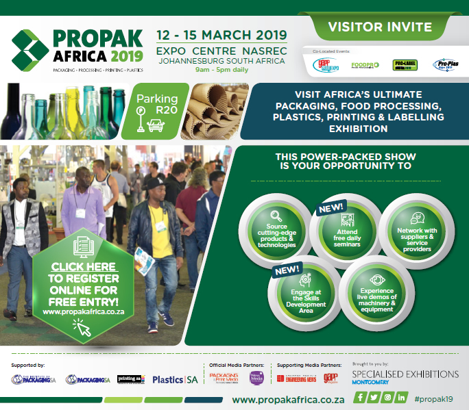 Propak Africa 2019 - Digital Invite